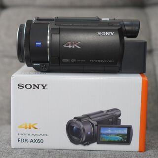 SONY - 【未使用品】ソニー ビデオカメラ FDR-AX60 4K おまけ付き!