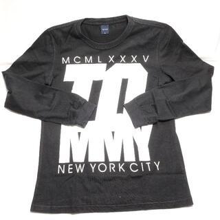 トミー(TOMMY)の[TOMMY] ロンT ブラック メンズМサイズ(Tシャツ/カットソー(七分/長袖))