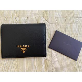 PRADA - PRADA プラダ 財布 ブラック 黒