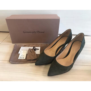 DEUXIEME CLASSE - ☆着用回数1回 美品☆ GIANVITO ROSSI PUMPS・36.5
