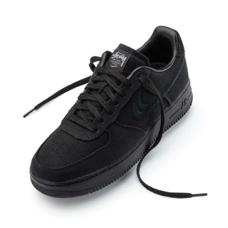 STUSSY - 28 STUSSY NIKE AIR FORCE 1 LOW BLACK