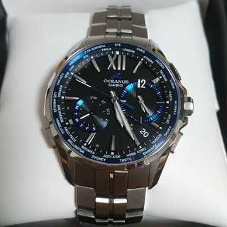CASIO - カシオ オシアナスマンタ OCW-S3400-1AJF 腕時計 CASIO