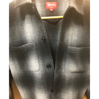 Supreme - supreme shadow plaid fleece shirts