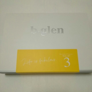 b.glen - ビーグレン トライアル 化粧水 美容液 サンプル