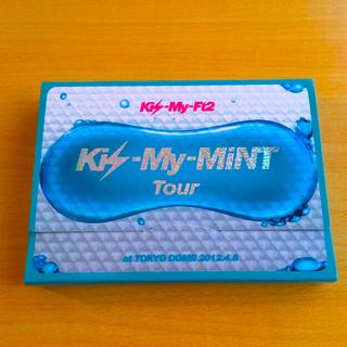 キスマイフットツー(Kis-My-Ft2)のキスマイミントツアー 初回 ライブDVD CD付き (ミュージック)