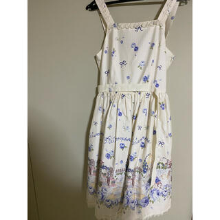 metamorphose temps de fille - Blooming Garden ジャンパースカート
