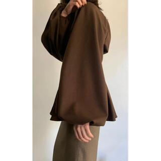 TODAYFUL - clastellar volume blouse moca