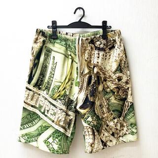 シュプリーム(Supreme)の【XL】Supreme Bring Shorts / Green シュプリーム (ショートパンツ)