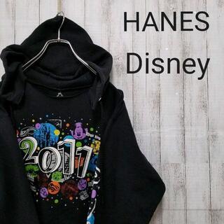 ヘインズ(Hanes)のHanes / パーカー スポーツ アウトドア スウェット ディズニー US(パーカー)