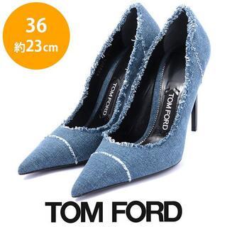 TOM FORD - ほぼ新品❤️トムフォード デニム パンプス 36(約23cm)