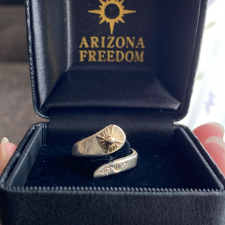 アリゾナフリーダム(ARIZONA FREEDOM)のアリゾナフリーダム リング 太陽神 正規品(リング(指輪))
