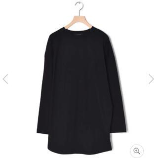ダブルクローゼット(w closet)のロンT アシメヘム オーバーサイズT(Tシャツ(長袖/七分))