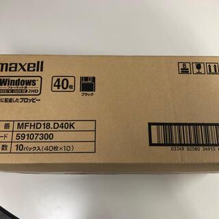 maxell - 3.5インチフロッピーディスク 2HD40枚10セット 2パック