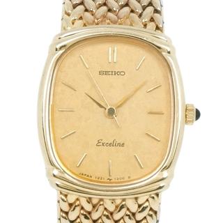 セイコー(SEIKO)のセイコー エクセリーヌ   1221-5890  ステンレススチー(腕時計)