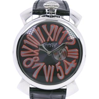 ガガミラノ(GaGa MILANO)のガガ・ミラノ マニュアーレ46   5084  ステンレススチール(腕時計(アナログ))