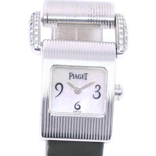 ピアジェ(PIAGET)のピアジェ ミスプロトコール   5222  K18ホワイトゴールド(腕時計)