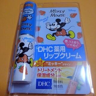 ディーエイチシー(DHC)のDHC薬用リップクリーム ミッキーデザイン(リップケア/リップクリーム)