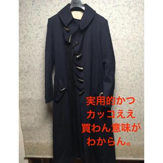 Yohji Yamamoto - yohjiyamamoto 20aw  look1  牙釦ベルテッドコート