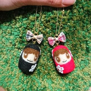 ジャニーズ(Johnny's)のハンドメイド☆羊毛フェルト キンプリ(バッグチャーム)