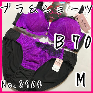 ブラ&ショーツセットB70        No.8904(ブラ&ショーツセット)