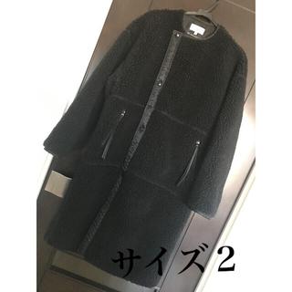 HYKE - HYKE ☆ ハイク ボアコート 2サイズ ブラック