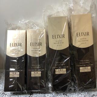 エリクシール(ELIXIR)の新品  エリクシール アドバンスド 化粧水&乳液  とてもしっとり 4本(化粧水/ローション)