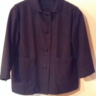 ヤエカ(YAECA)のランフランセダンタン   七分袖ジャケット(ノーカラージャケット)
