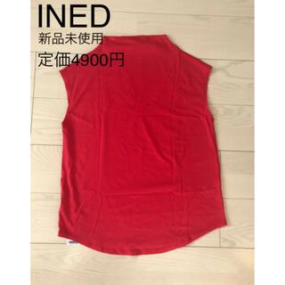 イネド(INED)のINED カットソー タンクトップ(カットソー(半袖/袖なし))