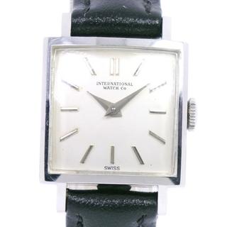 インターナショナルウォッチカンパニー(IWC)のインターナショナルウォッチカンパニー スクエア     ステンレス(腕時計)
