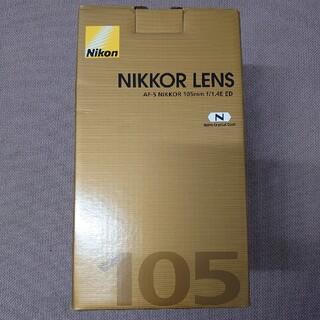 Nikon - 【新品】ニコン レンズ AF-S NIKKOR 105mm f/1.4E ED