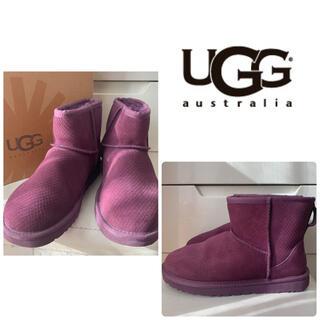 UGG - UGG クラシックミニ パープルスエード ブーツ