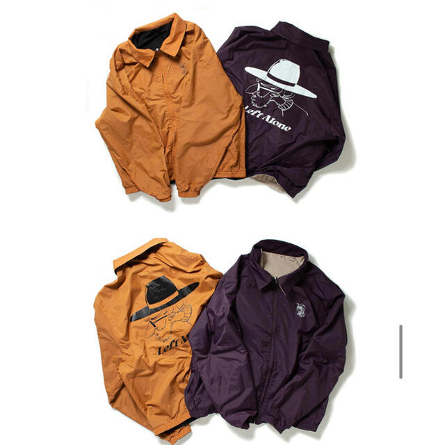 Left Alone リバーシブルジャケット レフトアローン メンズのジャケット/アウター(ナイロンジャケット)の商品写真