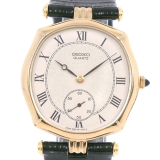 セイコー(SEIKO)のセイコー スモールセコンド   2628-5050  K10イエロ(腕時計(アナログ))