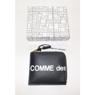 コムデギャルソン(COMME des GARCONS)のコムデギャルソン huge logo L字 財布 コインケース black(コインケース/小銭入れ)