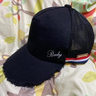 Rady - 【Rady】サイドラインキャップ