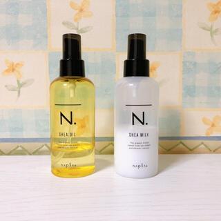 NAPUR - エヌドット*シアオイル・シアミルク2個セット