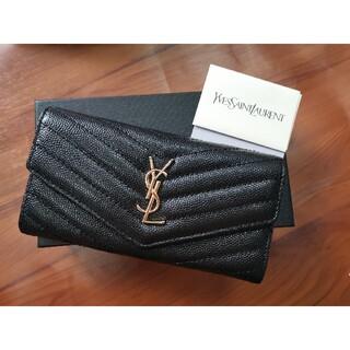イヴサンローランボーテ(Yves Saint Laurent Beaute)のYSL サンローラン 長財布(名刺入れ/定期入れ)