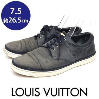 LOUIS VUITTON - ルイヴィトン ダミエ ローカット メンズスニーカー 7.5(約26.5cm)