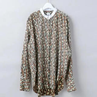 BEAUTY&YOUTH UNITED ARROWS - ROKU Diamond print shirt ブラウス 極美品