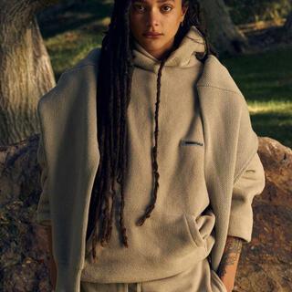 FEAR OF GOD - Essentials polar fleece hoodie