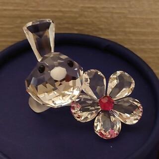 SWAROVSKI - スワロフスキー 鳥とお花