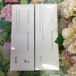 リサージ(LISSAGE)のリサージスキンメンテナイザーW2 薬用美白化粧液 しっとりタイプ(詰め替え)2箱(化粧水/ローション)