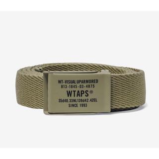 ダブルタップス(W)taps)のWTAPS GIB /BELT / ACRYLIC BEIGE ベルト(ベルト)