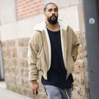 URKOOL alpaca hoodie Corduroy jacket