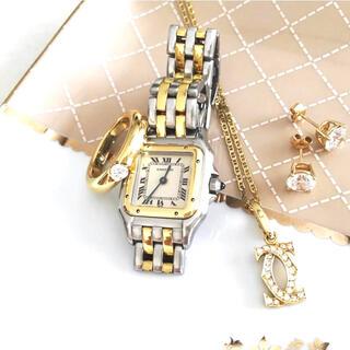 Cartier - 美品✨カルティエ Cartier パンテール SM コンビ 2ロウ 腕時計
