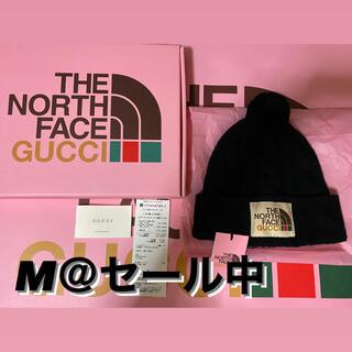 グッチ(Gucci)の【希少】Gucci / The North Face ニット帽 Msize(ニット帽/ビーニー)