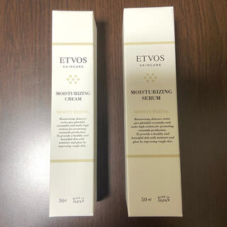 エトヴォス(ETVOS)のエトヴォスモイスチャライジングセラム・モイスチャライジングクリーム(フェイスクリーム)