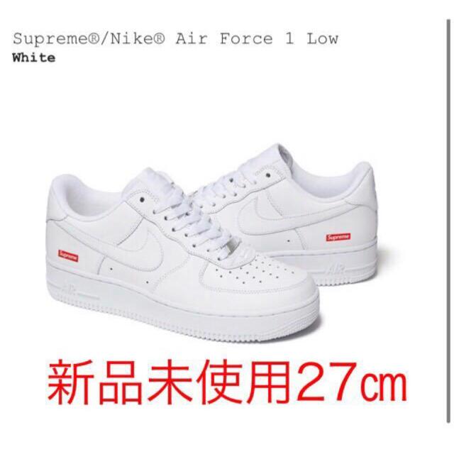 Supreme(シュプリーム)のsupreme Nike Air Force1 Low エアフォース1 27  メンズの靴/シューズ(スニーカー)の商品写真