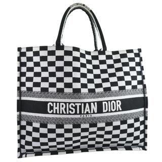 Dior - クリスチャンディオール ブックトート チェック  M12862RI