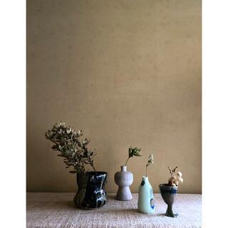 【大江戸骨董市】陶器の花瓶セット ディスプレイ古道具